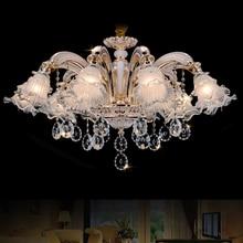 الذهب كريستال أضواء الثريا LED الثريات البلورية/ النجف الكريستالي الإيطالية الثريات الحديثة غرفة المعيشة مصباح معلق LED أضواء المطبخ