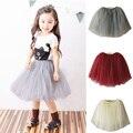Four seasons lovely fluffy soft tulle baby girls tutu skirt pettiskirt many  colors girls skirts for kids princess party skirts