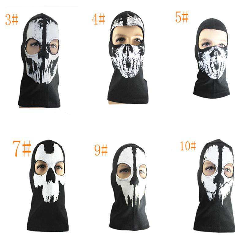 2017 New Arrivel Balaclava Skull Full Face Mask Hood For Skiing Airsoft Paintball Game Cosplay Mask