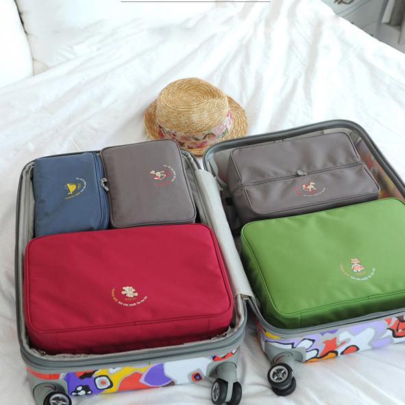 5 Pçs/set Travel Bag Praça Mutifuction Finalizador Titular Acessórios Suprimentos Engrenagem Oganizer Produto Material de Embalagem