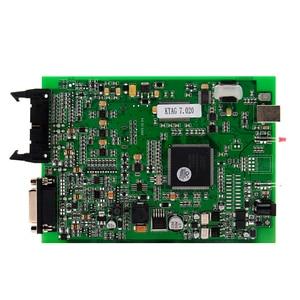 Image 2 - 100% لا الرموز 7.020 KTAG K tag V7.020 V2.23 على الانترنت ماستر KTAG V7.020 K TAG ECU رقاقة ضبط لسيارة شاحنة الهدايا ECM Winols