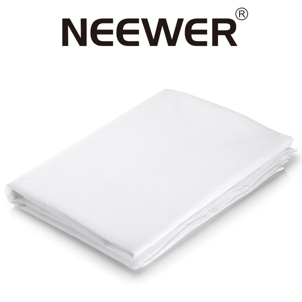 Neewer 20x5 feet 6x1.5M Nylon Silk White Diffusion Fabric for Photography Softbox Light Tent DIY Lighting Modifier soft boxes