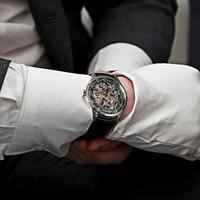 AGELOCER Original - Swiss Brand Watch Mens Watch - Mechanical Design - Skeleton Watch 2