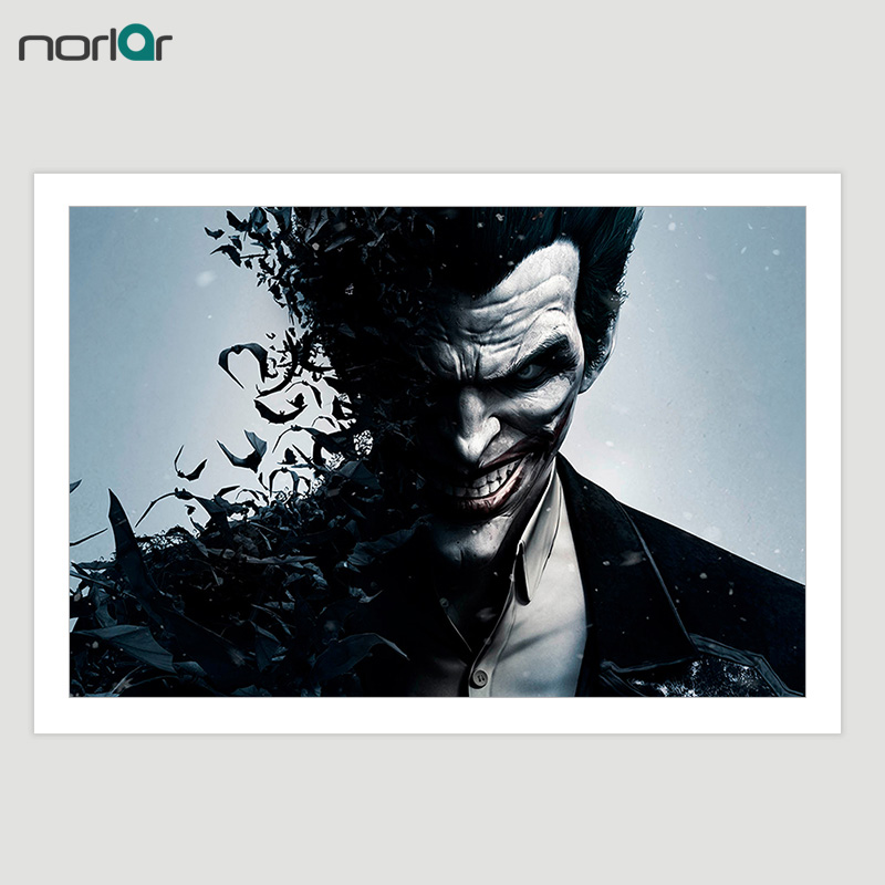 Wall Art Canvas Filmski poster Batman Joker Canvas slikanje na platnu - Kućni dekor - Foto 1