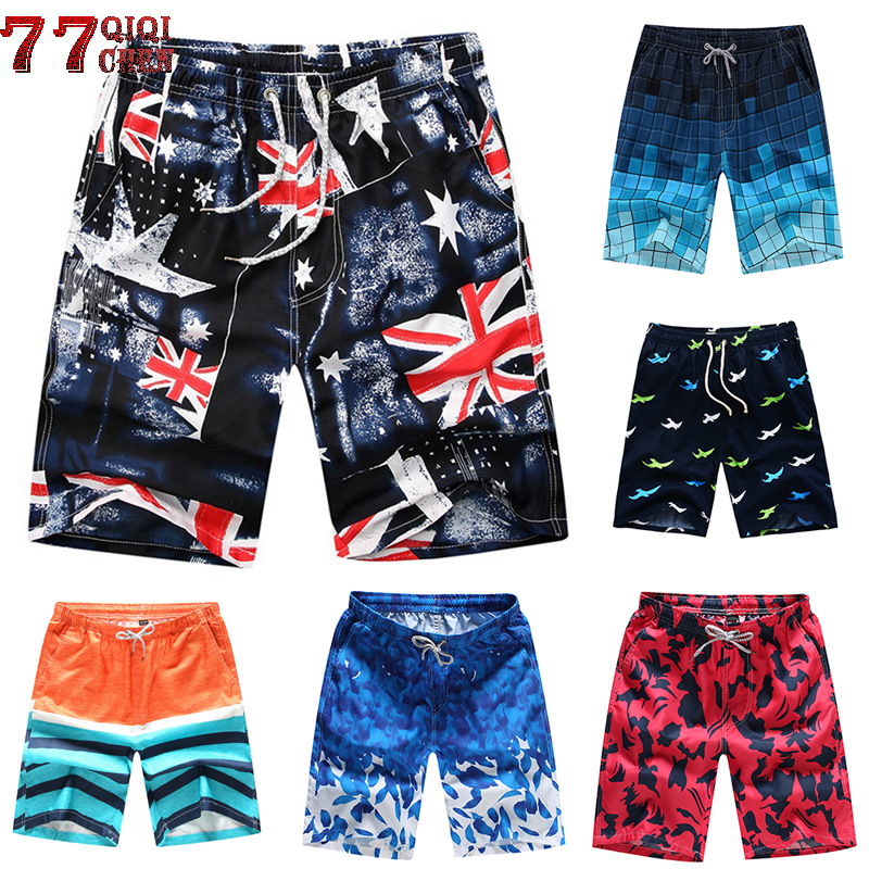 Board Shorts Pants Outwear Plus-Size Brand New 4XL Casual Homme Quick-Drying Men's