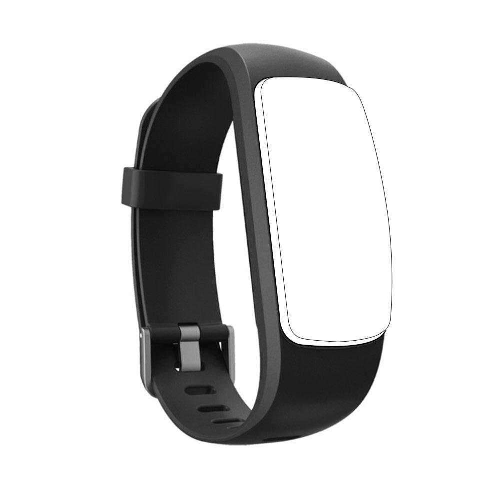 Image 5 - Silicone Smart Bracelet Adjustable Wristband Colorful Watchband Replacement Accessory For Fitness Tracker ID107 Plus HR-in Smart Accessories from Consumer Electronics