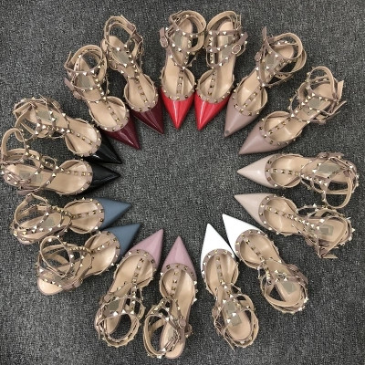 Hebilla Antideslizante Verano Tacón V 20 19 2 Mujer 17 13 Con 2018 11 16 Alto Zapatos Remache 10 15 De El 4 18 1 14 Sandalias 9 8 Señaló Fondo Hueco 7 6 12 5 3 PwPqr7z
