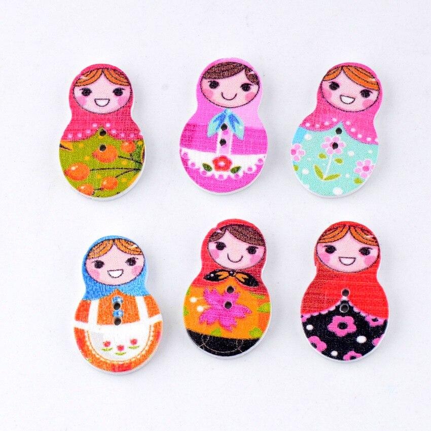 ᗚEnvío libre-al por menor DIY 30 unids muñeca rusa encantadora ...