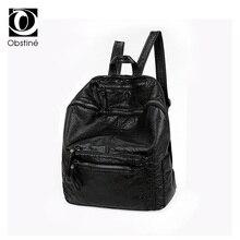 Женщины рюкзак школьные сумки для подростков искусственная кожа мода женский рюкзак для девочек женские дорожные черный рюкзаки женская сумка