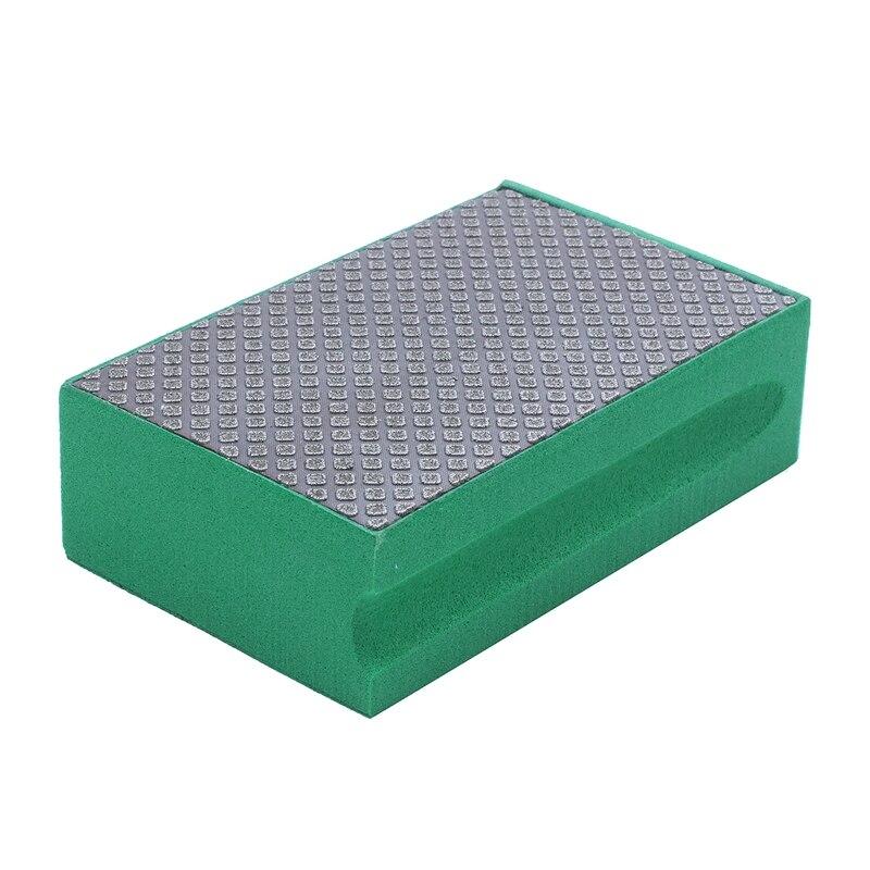 새로운 도착 고품질 스폰지 그라인딩 드라이 다이아몬드 핸드 폴리싱 패드 그릿 60 다이아몬드 연마 패드-에서광택기 패드부터 도구 의