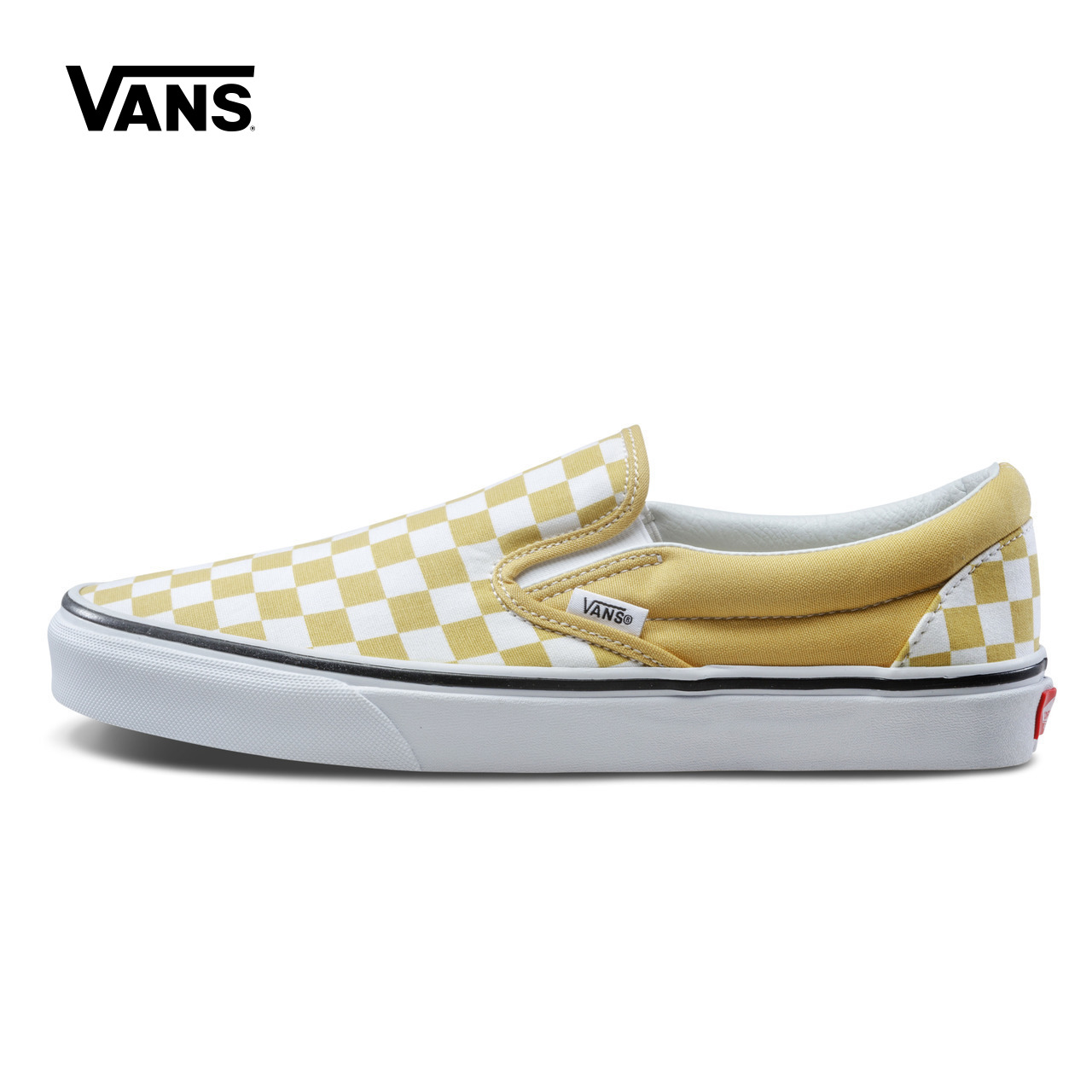 Original New Arrival Vans Men's & Women's Classic Slip-On Low-top Skateboarding Shoes Sport Outdoor Sneakers Canvas VN0A38F7QCP suede low top slip on sneakers