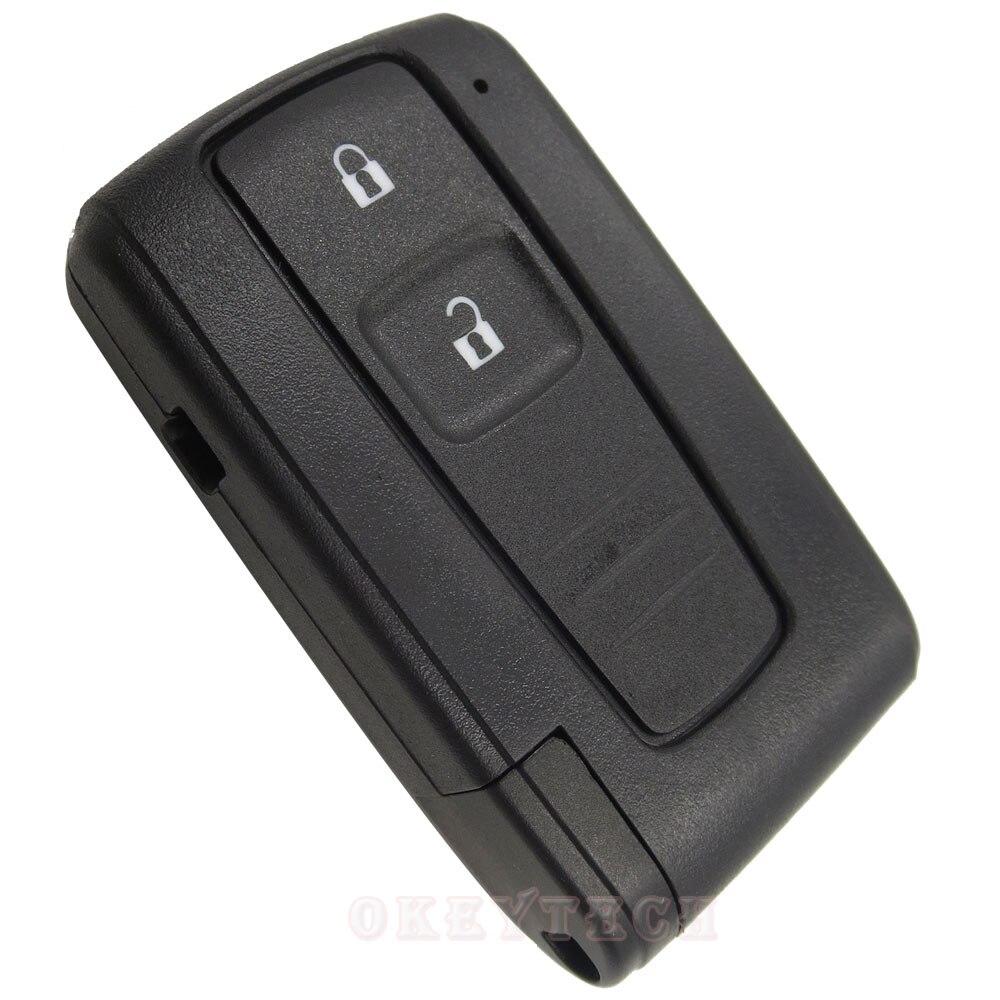Okey Tech Pour Toyota PRIUS 2004-2009 COROLLA VERSO Camry Smart carte Clé De Voiture À Distance Shell Avec Lame Livraison Gratuite Couverture cas