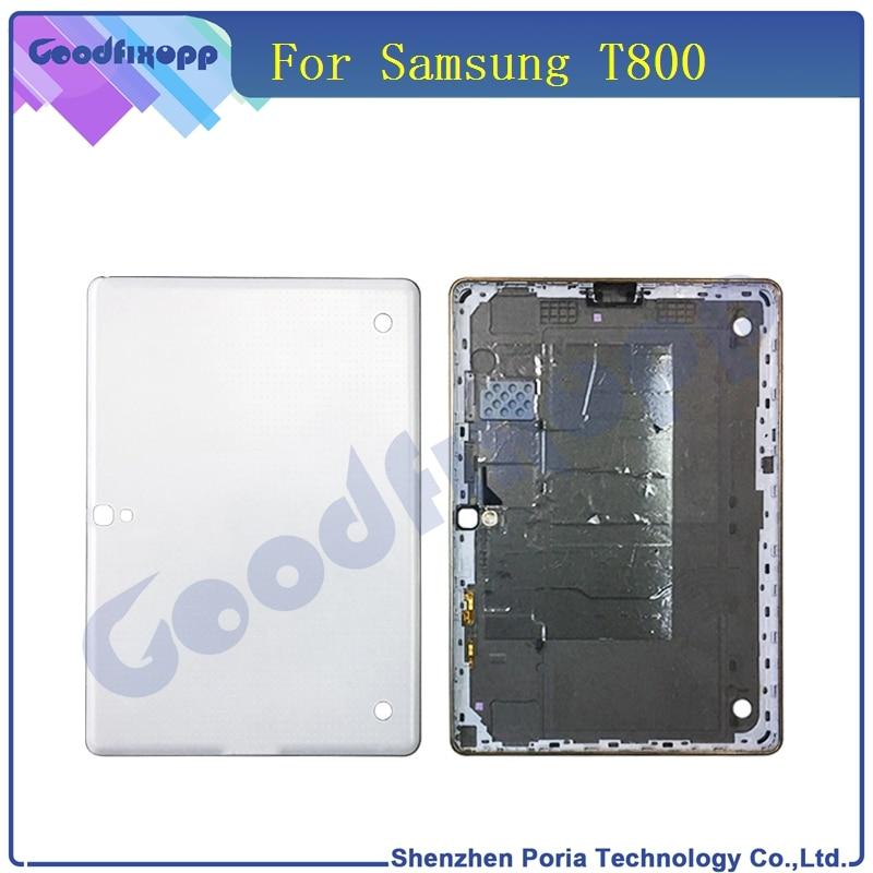 Задняя крышка Батарея двери Корпус чехол для Samsung Galaxy Tab S T800 Замена Оригинальный T800 Батарея задняя крышка чехол