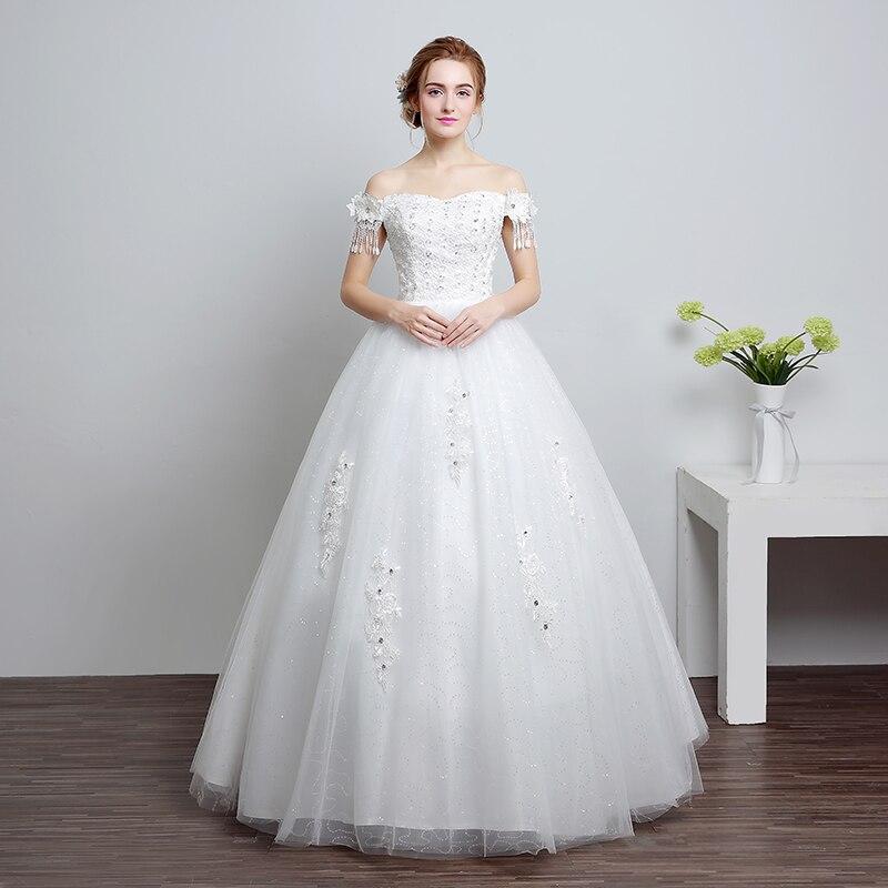 Real Photo Girls Wedding Dress 2017 Korean Style Fashionable One - Korean Wedding Dress