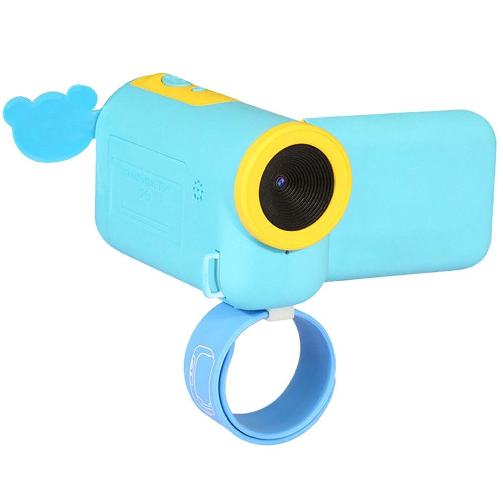 Портативный весело дети камера Cam селфи мини Детская камера для Мода Прямая HD - Цвет: blue