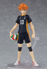 Anime Cartoon Haikyuu!! Volleyball Athlete Hinata Syouyou Shoyo Figma 358 PVC Action Figure Collection Model Kids Toys Doll 13cm tobyfancy haikyuu action figures nendoroid hinata syouyou kageyama tobio figure pvc 10cm anime volleyball figures haikyuu