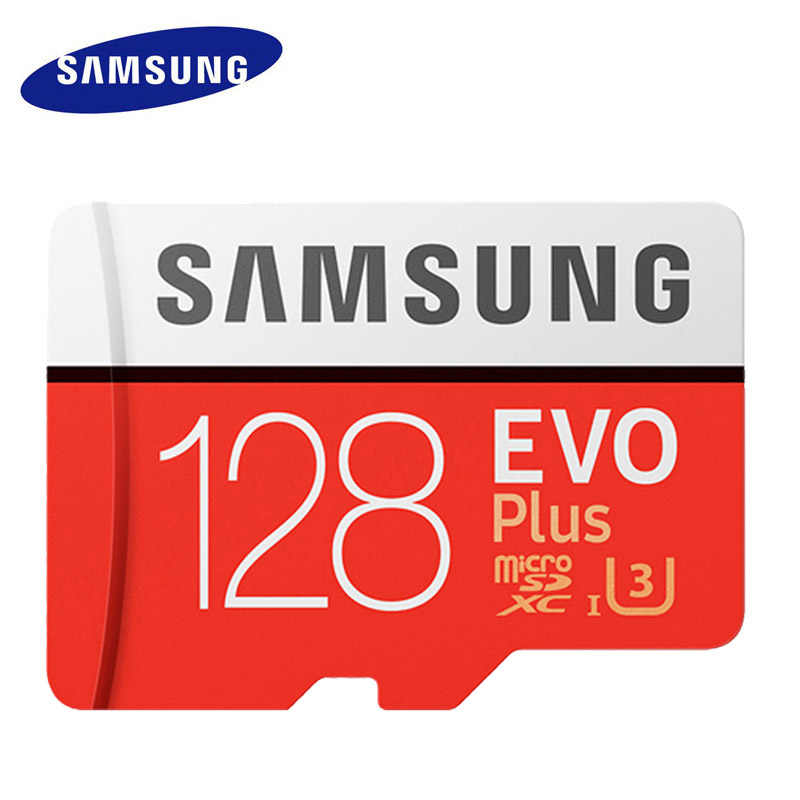 Карта памяти SAMSUNG Micro SD 128 GB EVO Plus 128 GB класс 10 TF карта C10 microsd UHS-I U3 cartao de карты памяти mecard