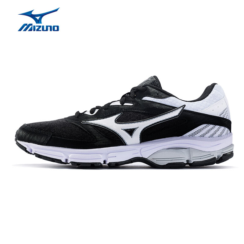 MIZUNO Mens WAVE SURGE Running Shoes Black Light Sneakers Breathable Jogging Sports Shoes J1GC171305 XYP659