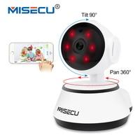 MISECU Pan Tilt Wifi Audio Record Full 360 Degree Rotation SD Card Surveillance 720P Baby Monitor