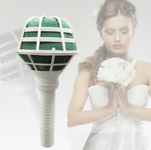 1 PCS Foam Bouquet Holder Accessory Tower Vase Handle Bridal Floral Wedding Flower Decoration DIY