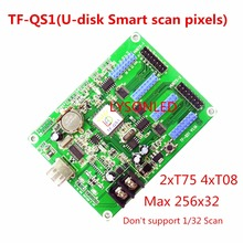 LongGreat TF-QS1 256*32 Pixels USB-disk ASynchronization RGB LED Control Card, Support USB-disk Smart Scan Pixels