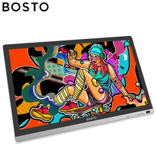 BOSTO Artista 22HD Mini 21.5in Graphics Tablet Monitor to Draw Art Drawing Full HD Graphics Tablets with Drawing Glove and Stand bowknot owl print draw diamond drawing