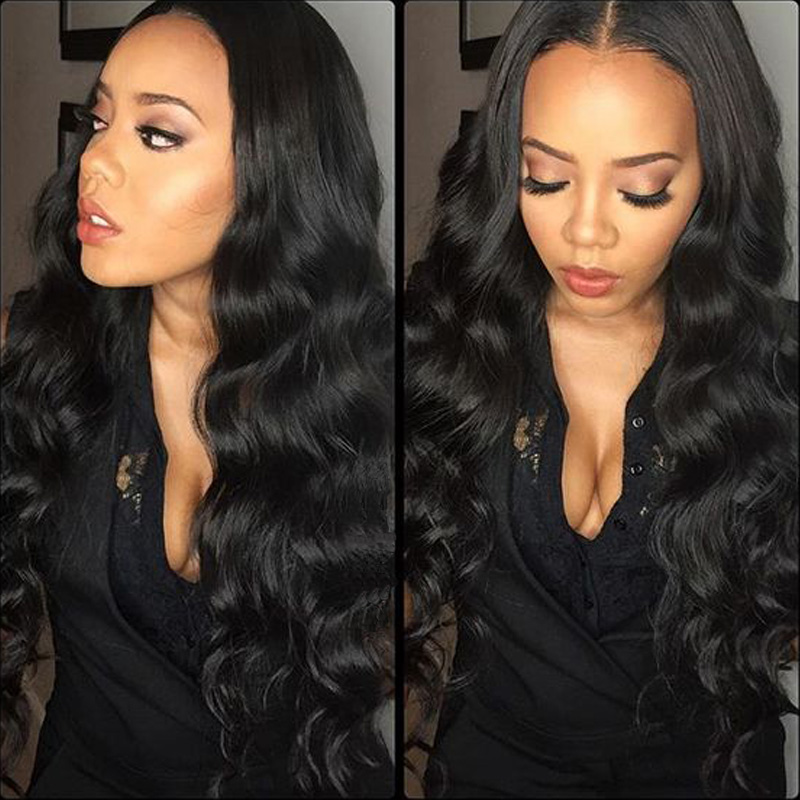 250 Density 8A Glueless Full Lace Human Hair Wigs Brazilian Body Wave Lace Front Human Hair