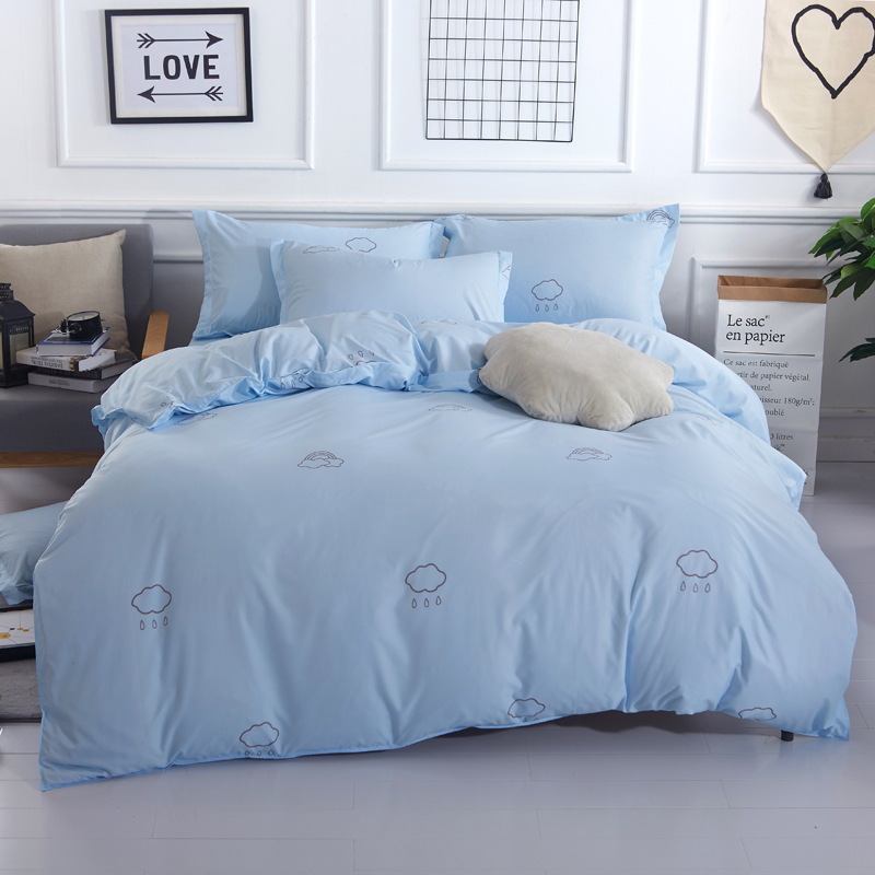 Lover You Me Sweet Full King Queen Double Size Duvet Cover 1 5m 8m 2m 2 Bed Linens Flat Sheet 3 4 Pcs Bedding Set Bedlinen In From Home