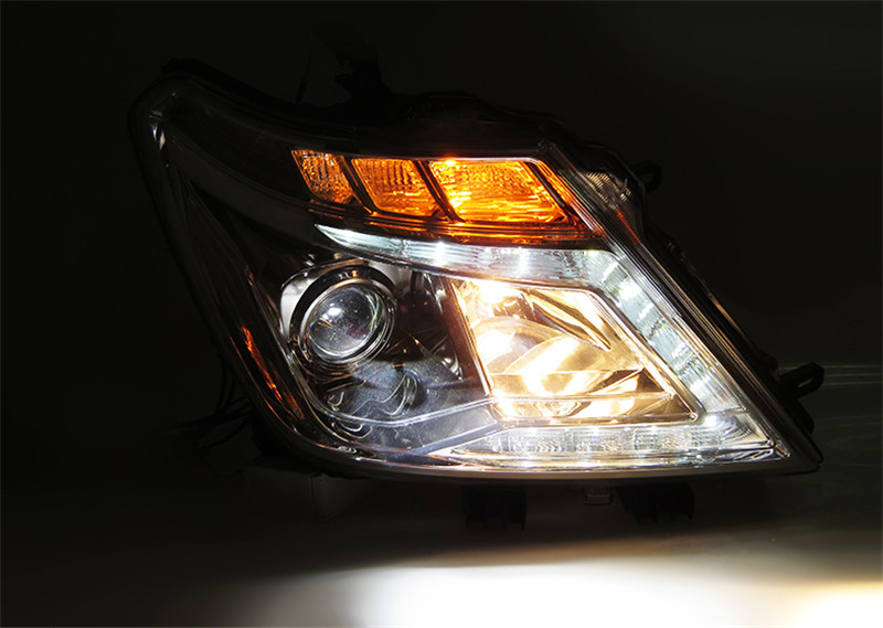 Free shipping vland factory headlamp for patrol LED headlight  H7 xenon lamps 2008 2008 2010 2011 2017  plug and play design free shipping vland factory car parts for camry led taillight 2006 2007 2008 2011 plug and play car led taill lights
