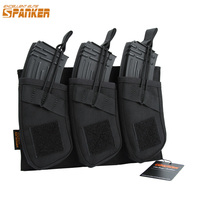 EXCELLENT ELITE SPANKER Outdoor Nylon AK Magazine Camo Holster Bag Tactical Assault Military Magazine Holster Hunting