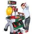 Nueva llegada de super alta simulación juguete de niño kit de mantenimiento de herramientas kit de baño sets bebé temprano educativo niños toys venta caliente