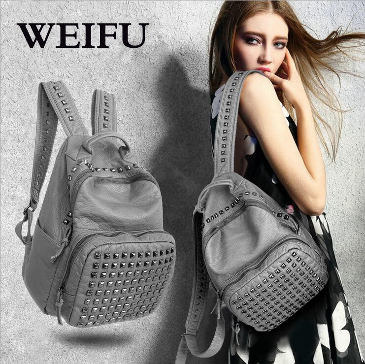 ФОТО New women's backpack Fashion women bag Student backpack Leisure travel bags