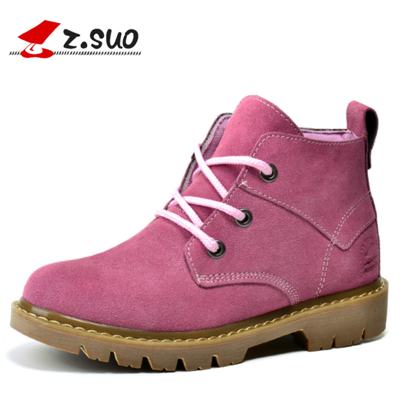 New 2017 Brand Winter Ladies Ankle Boots Pink Genuine Leather Flat Women Boots Fashion Outdoor Shoes Woman Botas Mujer Size35-39 мир деревянных игрушек мди лабиринт зебра