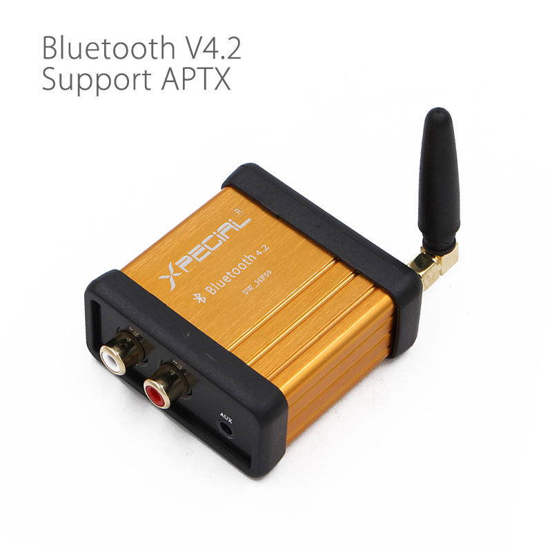 HIFI-Class Bluetooth 4.2 Audio Receiver Amplifier Car Stereo Modify Support APTX Low Delay bluetooth 4 0 edr audio receiver board wireless stereo hifi amplifier sound module