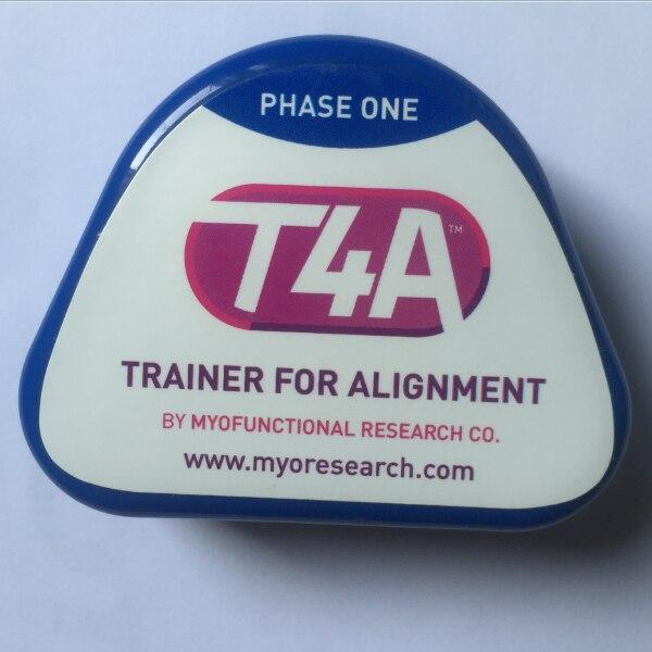 Original T4A  Blue sofe  Dental Orthodontic Appliances Myofunctional