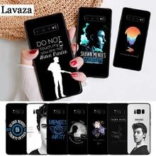 Lavaza Hit pop singer Shawn Mendes Magcon Silicone Case for Samsung S6 Edge S7 S8 Plus S9 S10 S10e Note 8 9 10 M10 M20 M30 M40