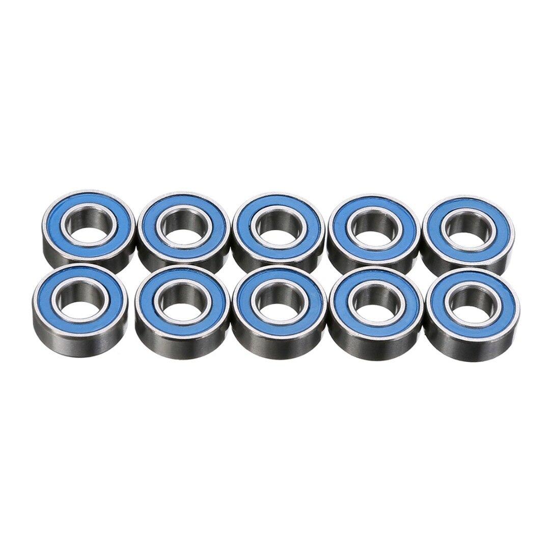 5x11x4 mm 10Pcs MR115-2RS Rubber Sealed Ball Bearings Bearing MR115RS YELLOW
