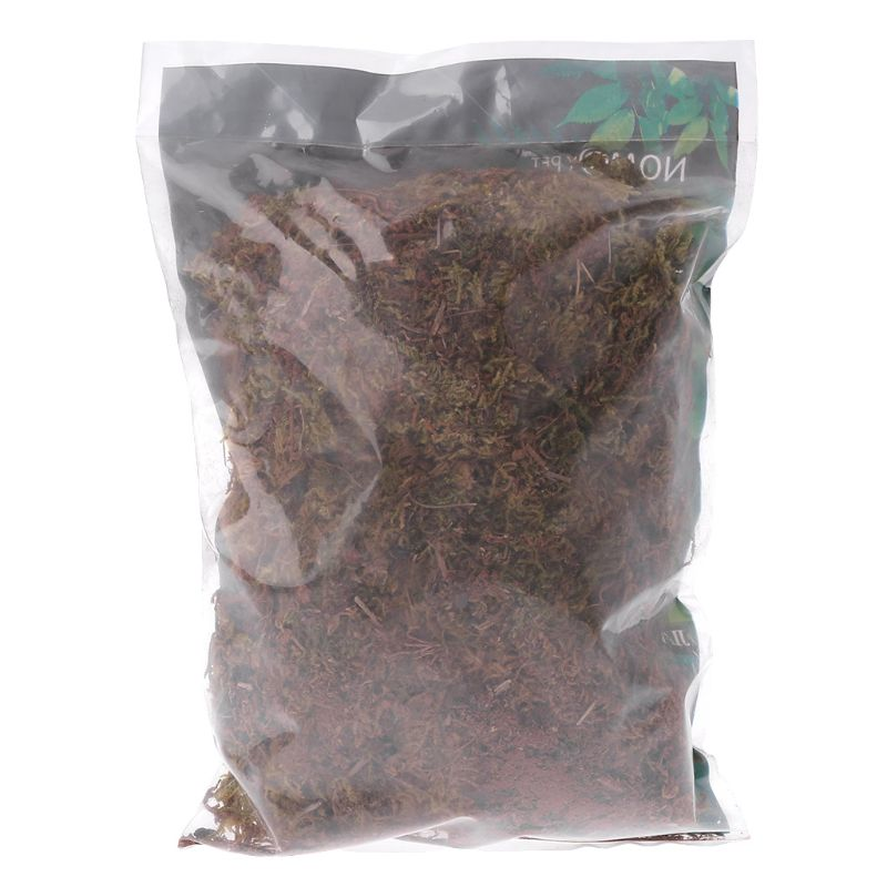 100g Natural Terrarium Moss Reptile Turtle Moss Substrate Habitat Decoration
