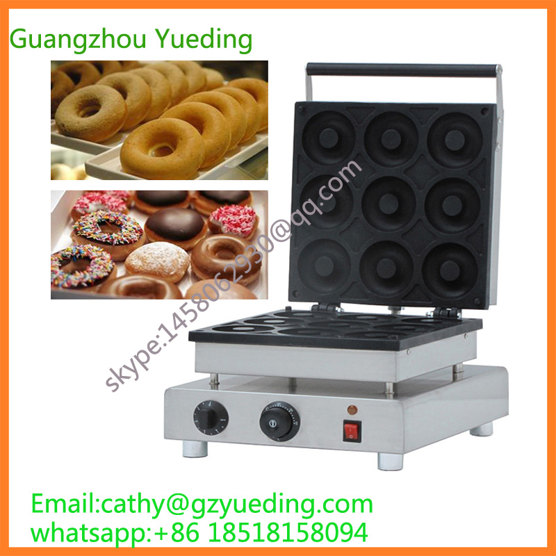 Factory price donut machine yeast donut making machine 9pcs Mini Donut Machine Donut Fryer Machine цены