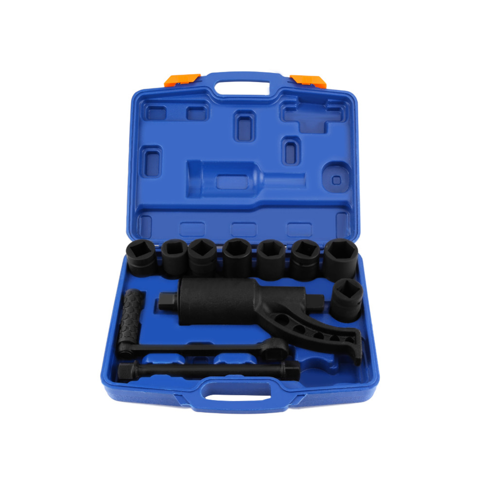 Heavy Duty Labor Saving Wrench Multiplier Wheel Lug Nut Wrench Lugnuts Remover Tool With 8 Socket
