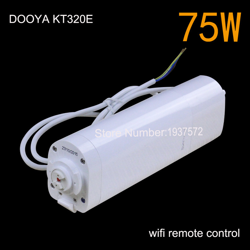 8-Original Dooya Home Automation Electric Curtain Motor KT320E-45W+DC92 5 Channel Emitter WIFI Control 220V50Hz 45W IOSAndroid