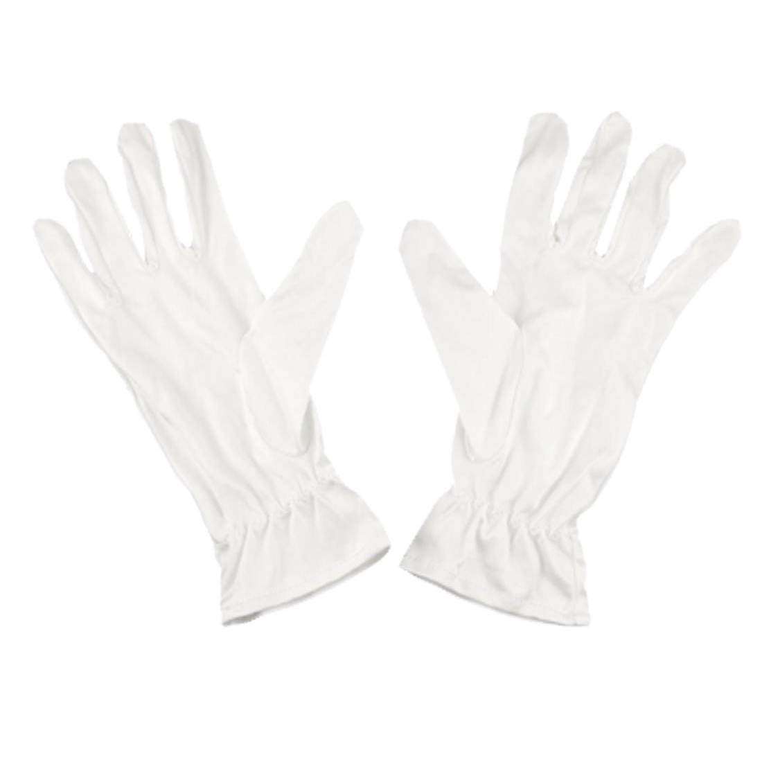 MOOL White Mini Faser Dust Proof Jewelry Silver Inspection Gloves