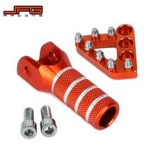 Задний тормозной рычаг переключения передач педаль шаг пластины переключения советы для KTM SX EXC XCW EXCF SX SXF MX 125 250 350 530 SMC 690 950 990