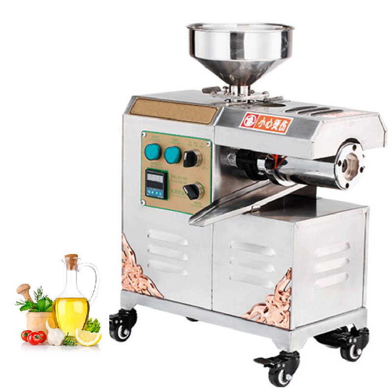 BEIJAMEI New Arrival Stainless Steel Peanut Oil Press Machine Commercial Home Cold Hot Oil Extractor Expeller Presser mini automatic oil press machine commercial home oil extractor expeller presser hot and cold press seed oil making machine zf