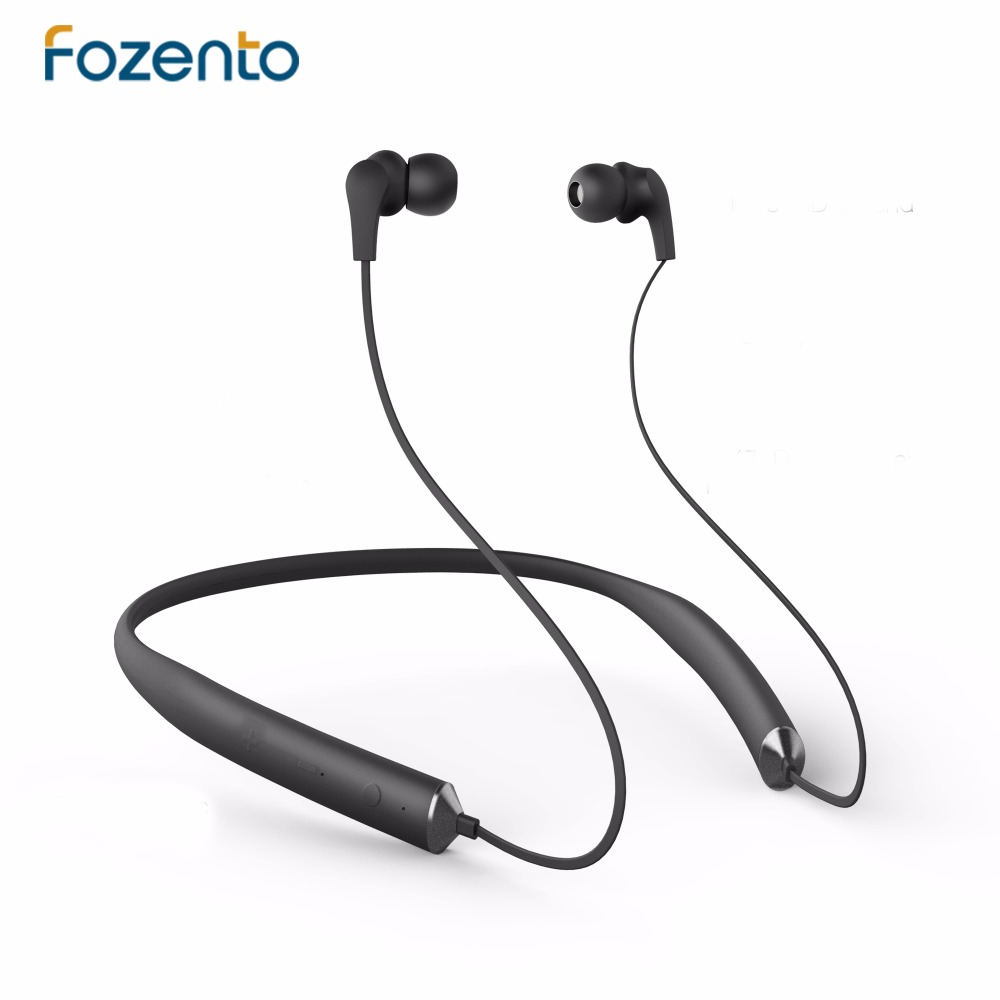 FOZENTO Stereo Zircon Bluetooth Earphone Sport Running With Mic In-Ear Wireless Earphone Bluetooth Headset For Xiaomi iPhone 2017 scomas i7 mini bluetooth earbud wireless invisible headphones headset with mic stereo bluetooth earphone for iphone android
