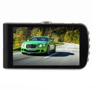 Image 5 - Schermo Hd 1080 p Dual Lens Auto Dvr Videocamera per auto Registratore 32g di Visione Notturna Registratore Portatile G sensor Drive video Macchina Fotografica del Precipitare