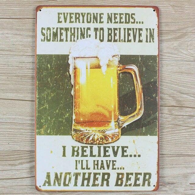 Beer jack daniels wiskey vintage home decor metal Tin signs malt ...