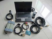 mb star c3 with hdd software with d630 laptop all cables full set ready to use diagnostic tool for cars