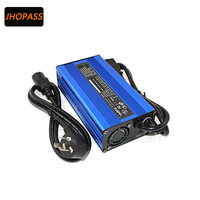 LED daisplay 36V 3A smart lithium battery charger for output voltage 42V 3A e bike battery charge