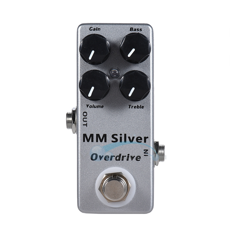 Mosky MM Overdrive Guitar Effect Pedal Mini Single with Full Metal Shell True Bypass Guitar Parts aroma adr 3 dumbler amp simulator guitar effect pedal mini single pedals with true bypass aluminium alloy guitar accessories